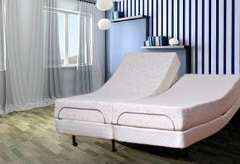 Leggett & Platt S-Cape Split Cal King Size Adjustable Bed with 10 in. Luxe Memory Foam Mattress by Atlantic Beds. $3399.00. Our Luxe Mattress offers a plush comfortable feeling that has made it our all-time best-seller. Enhanced by all of the benefits of the Leggett & Platt S-Cape adjustable bed.