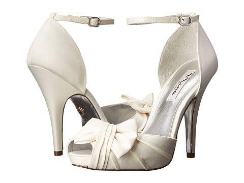 Nina Ella Heels Bridal Shoes Wedding Shoe Bag