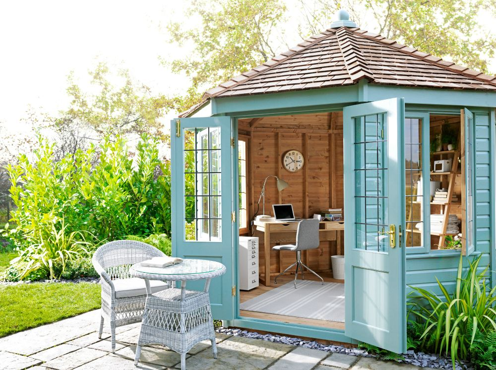 Top Tips for Creating the Perfect She Shed | Shed decor ...