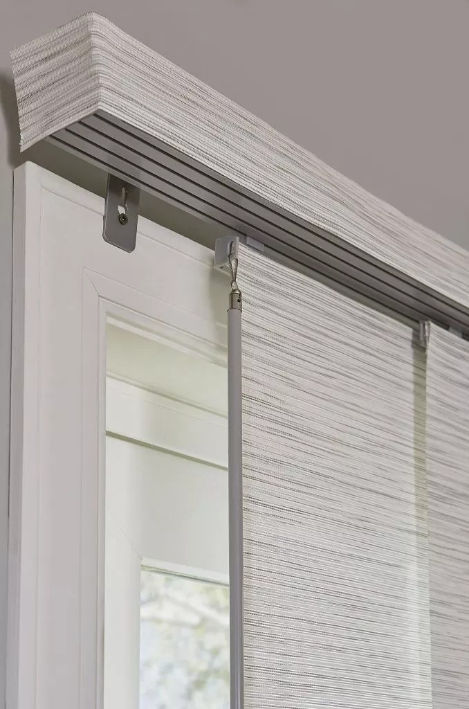 Bamboo Sliding Panel Track Blinds: The Best Vertical Blinds Alternatives For Sliding Glass