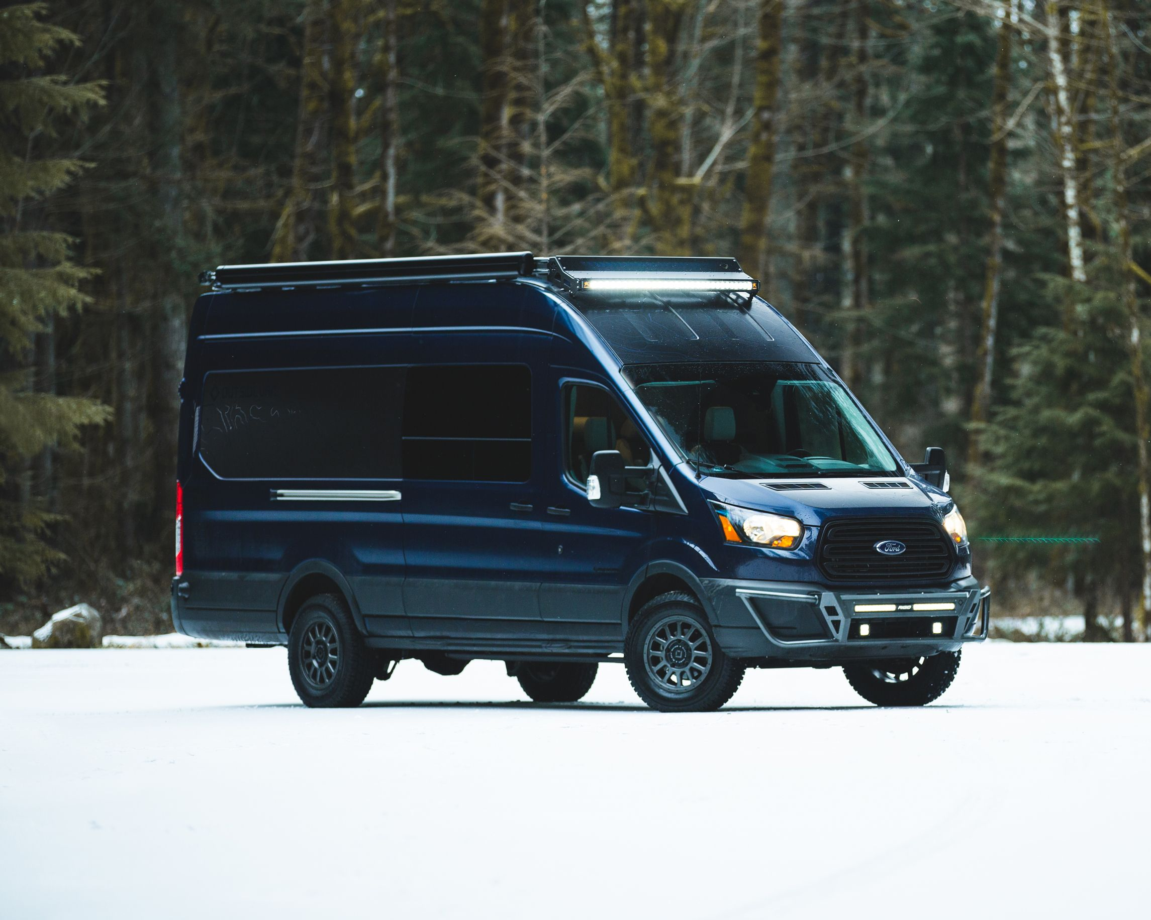 Mountains To Coast Is An Ascend Series Van Designed And Built By
