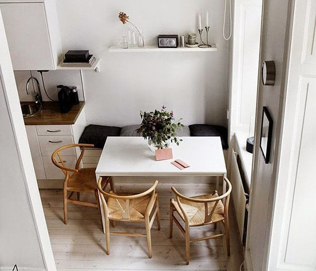 49 Gorgeous Small Dining Room Design Ideas