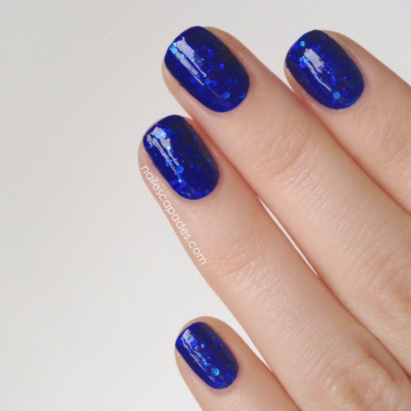 Nail Escapades: WellNails - Blue French Horn Indie Nail Polish ...
