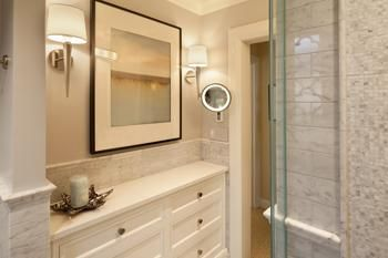 best bathroom lighting placement cross illumination is key for