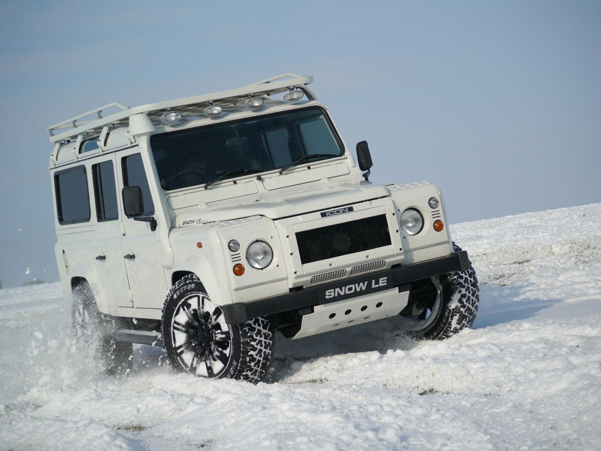 Landrover Defender By Icon Car Pics Pinterest