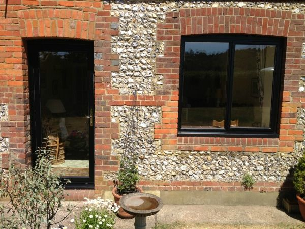Aluminium windows in dorking double glazing in guildford window and french doors black out white in power coated aluminium planetlyrics Image collections