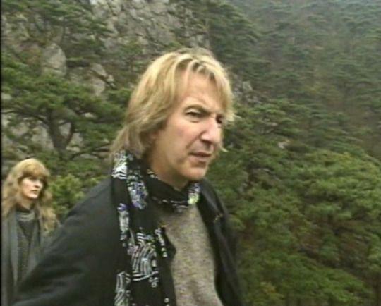 1994 Alan Rickman As Franz Anton Mesmer In The Movie Mesmer