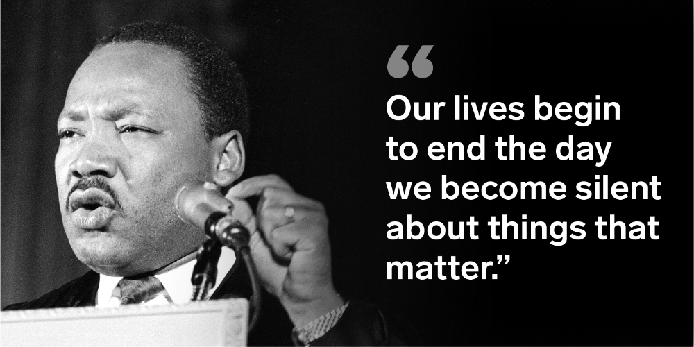 12 Inspiring Quotes From Martin Luther King Jr Martin Luther King Quotes King Quotes Inspirational Quotes