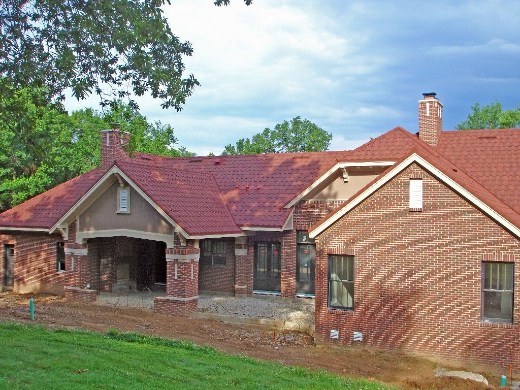 Best Green Metal Roof Google Search Red Brick House Roof 400 x 300