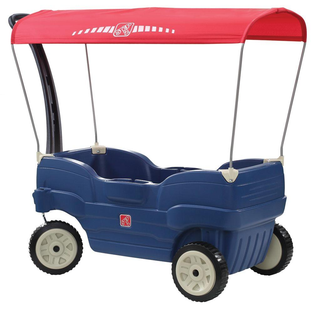Canopy Cruise Wagon Kids Unisex Blues In 2019 Outdoor Toys For