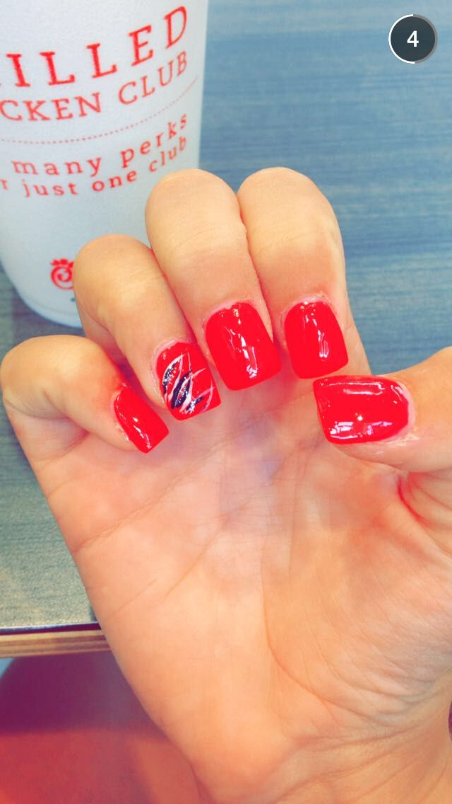 Awesome nails by me I mean that's my hands I didn't do the nails