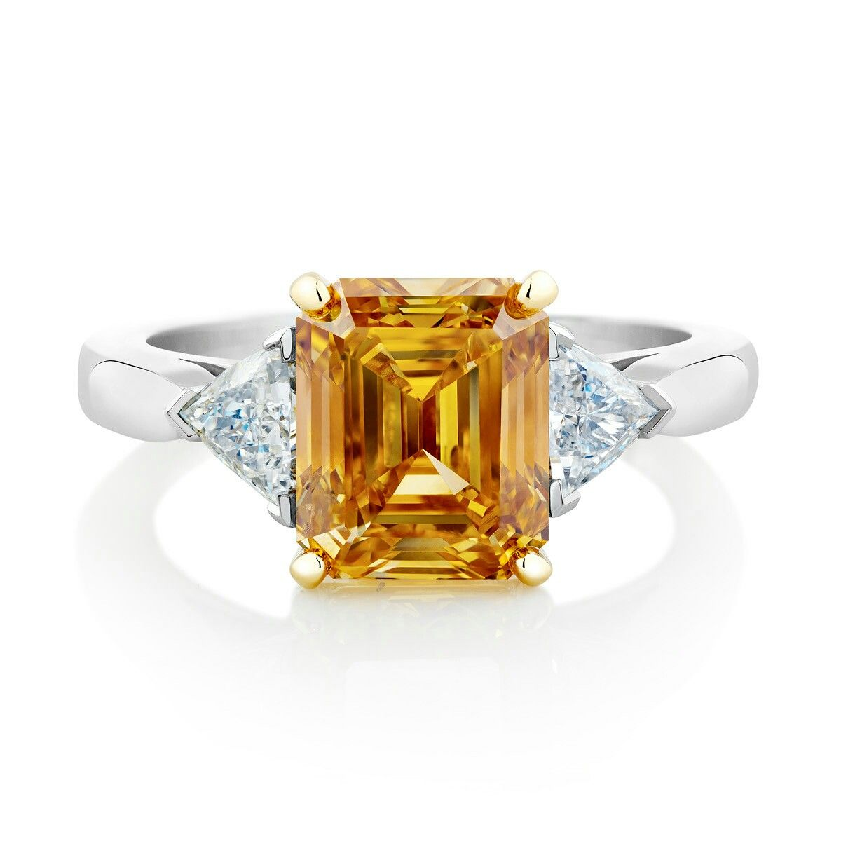 Diamant orange de beers jewelry gorgeous pinterest de beers