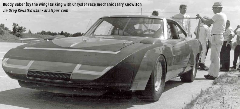 Plymouth Superbird and Dodge Charger Daytona, aero supercars