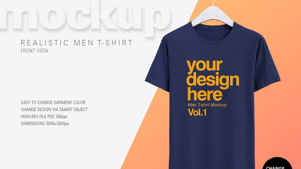 1018+ Pocket T-Shirt Mockup Psd Free Yellow Images Object Mockups