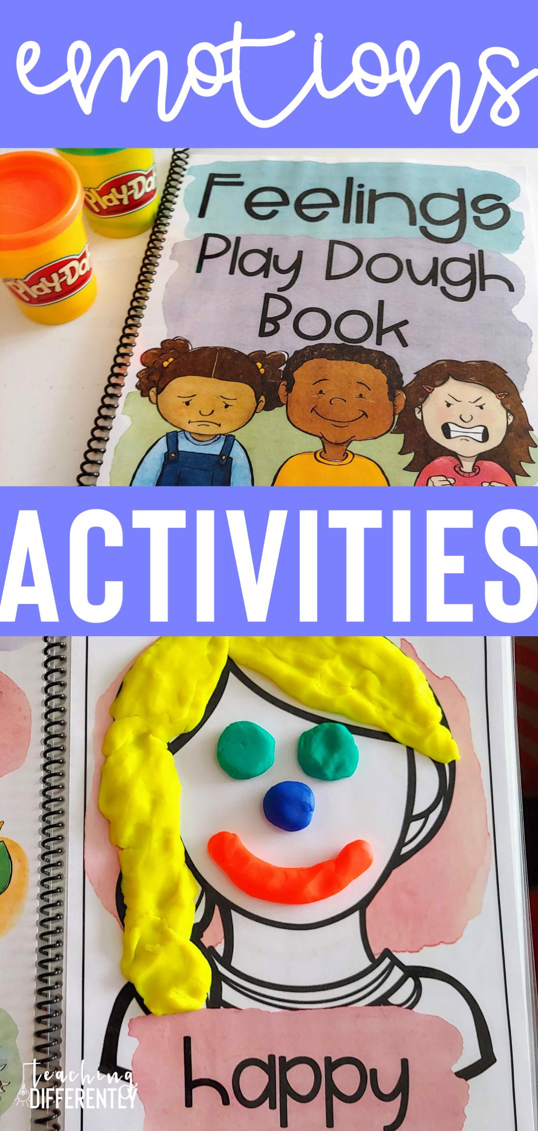 Emotions Bundle | Kindergarten morning work, Social ...