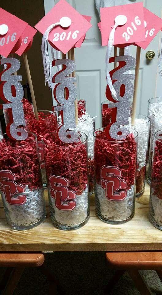Graduation centerpieces Graduation Pinterest Graduación, Grado