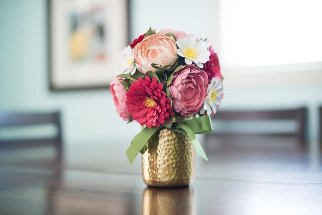 3D Paper Flower Bouquet (Part 1) | 3d paper, Flower bouquets and ...