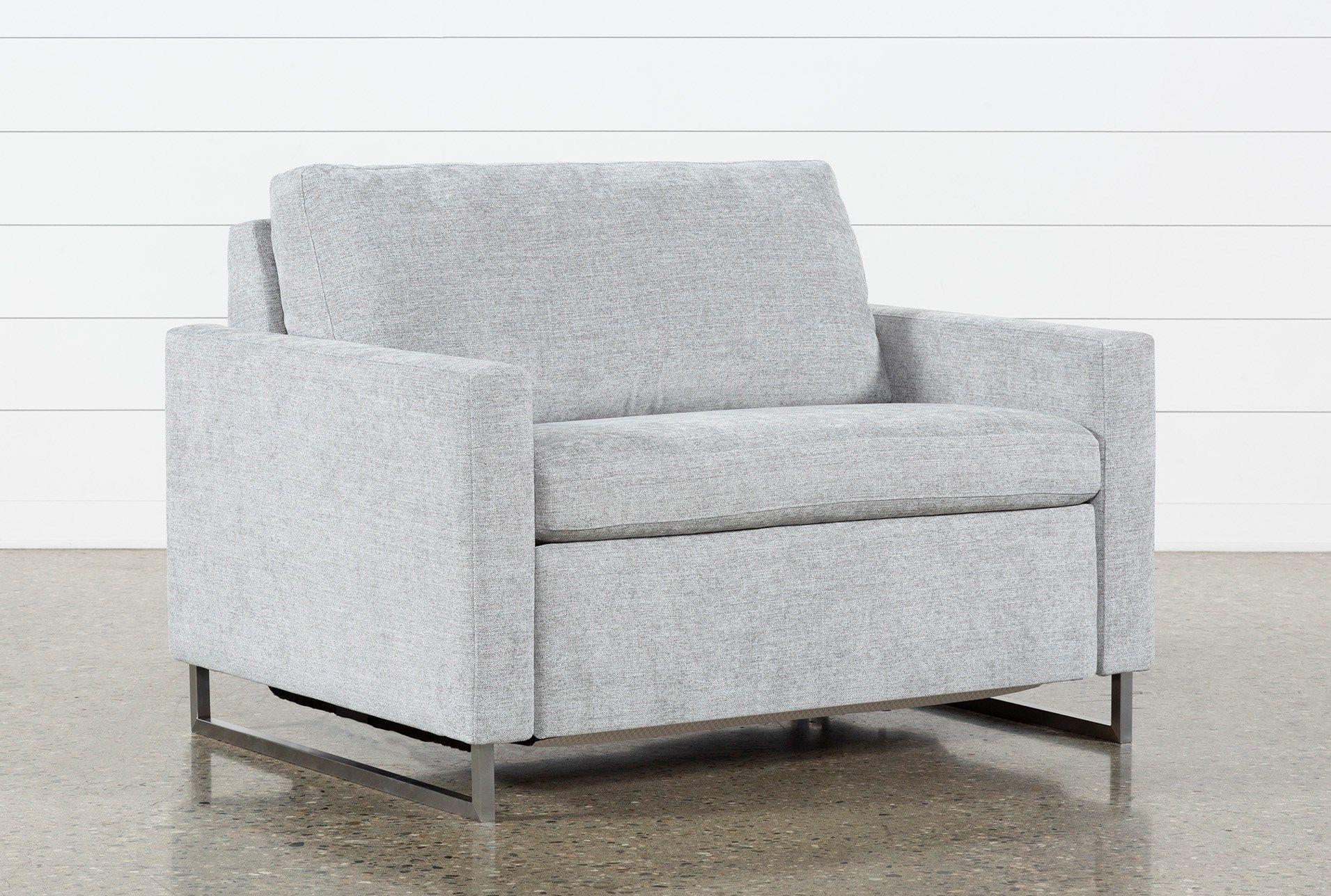 Branson Light Grey Twin Sofa Sleeper Sleeper sofa