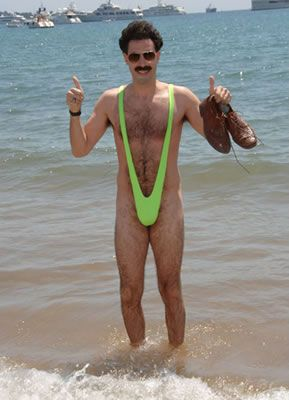 9b2a83e0a8c2c Borat mankini, the inspiration to start the Mankini board on Pinterest.  Have mankinis taken off, vote in our poll: www.europealacart.