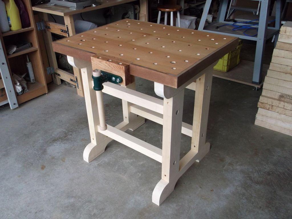 Cool SplitTop Roubo Workbench  The Wood Whisperer Guild