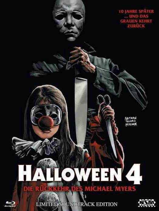 Halloween  4  Horror Movie Posters Classic /& Vintage Cinema