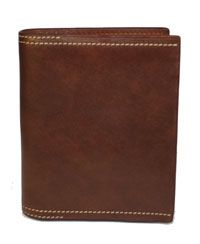 Brown Leather Wallet $30