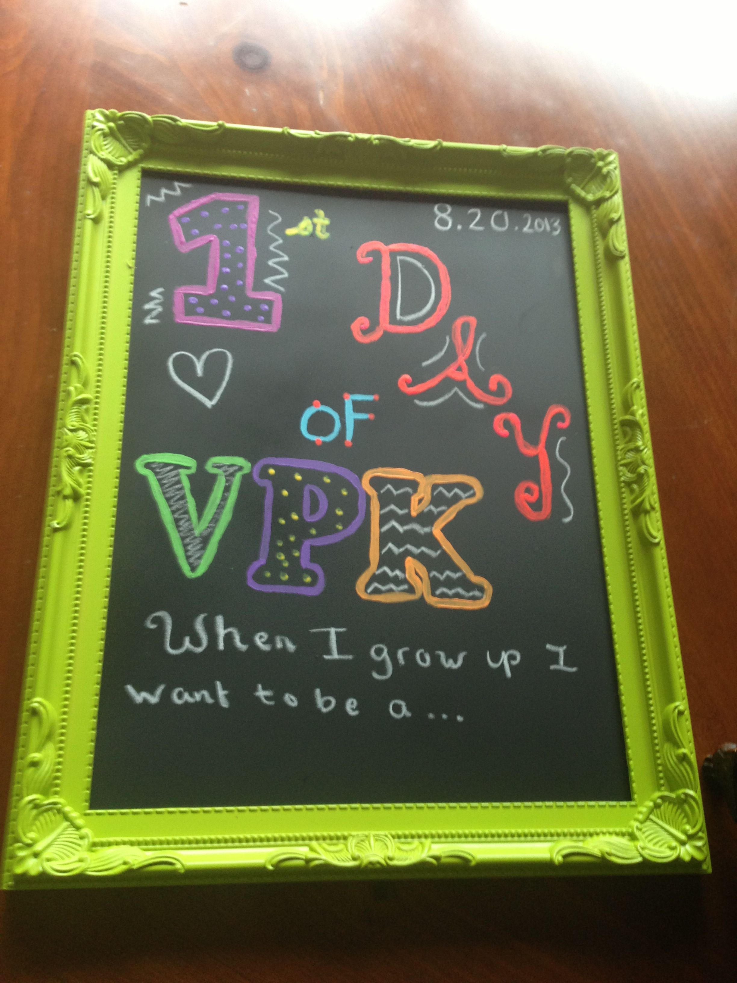 Vpk Classroom Ideas ~ First day of vpk school pinterest
