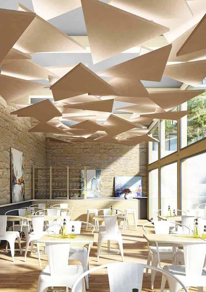 des r alisations au z nith restaurants ceilings and ceiling. Black Bedroom Furniture Sets. Home Design Ideas
