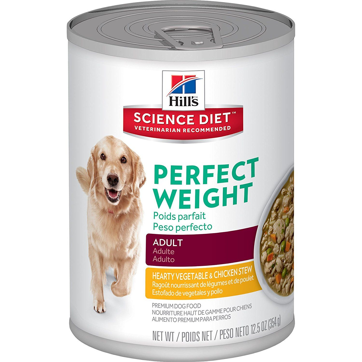 Hill S Science Diet Perfect Weight Canned Dog Food 12 Pack