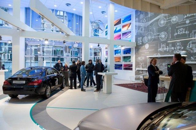 Buro Loods | Mercedes-Benz pop-up store - 2013