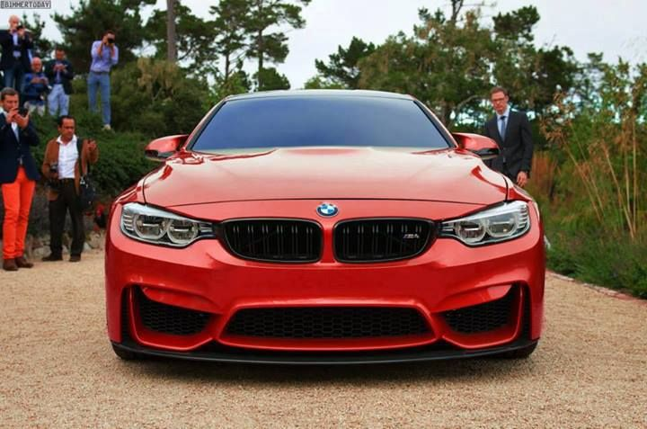 Hot Red M4 BMW