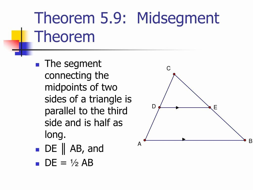 50 Midsegment Theorem Worksheet Answer Key In With