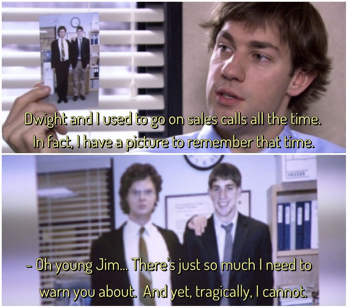 Oh young Jim   | Office humor, Office tv, Office memes