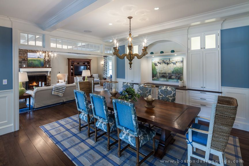 Barbara Bahr Sheehan Interior Design Custom Home in Norwell, MA