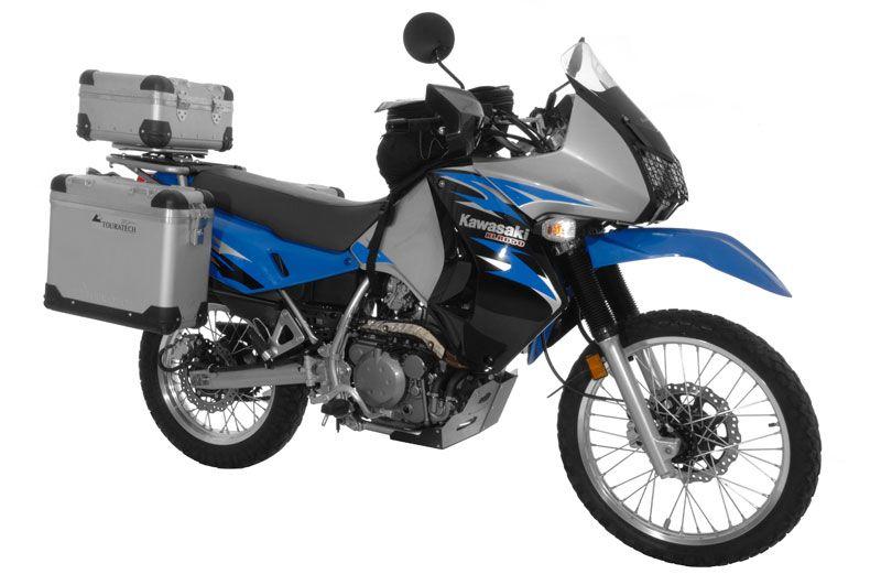 Touratech Outfits Kawasaki Klr650 With Adventure Kit Bikes I Love