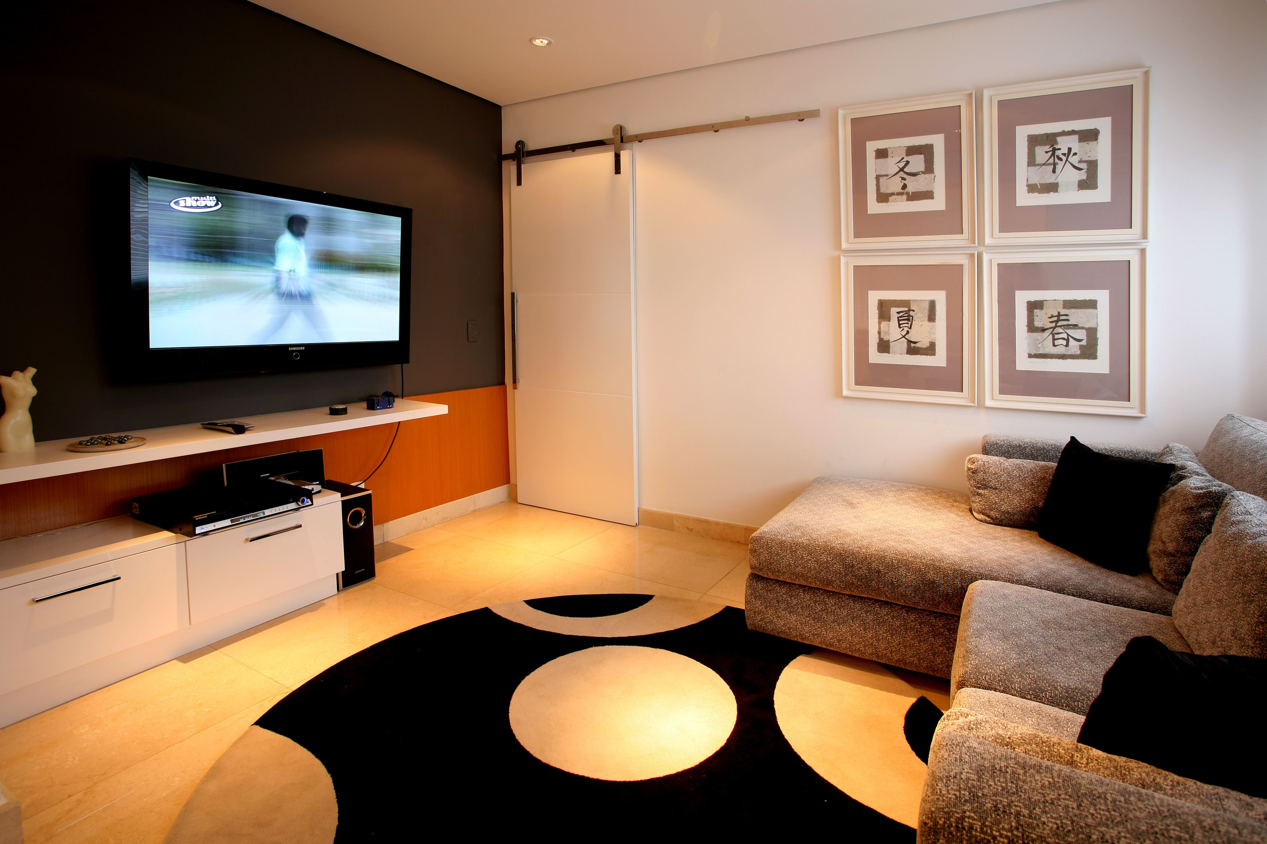 Modern Home Theater Decora O De Salas Modernas