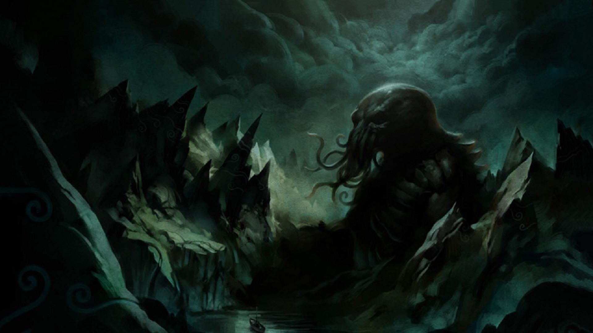 Hd Cthulhu Wallpaper Cthulhu Lovecraft Cthulhu Lovecraftian Horror