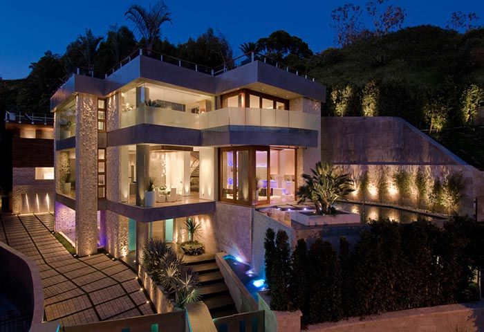 Photos Of L.A California Houses | ... Contemporary Southern California Real  Estate Design In