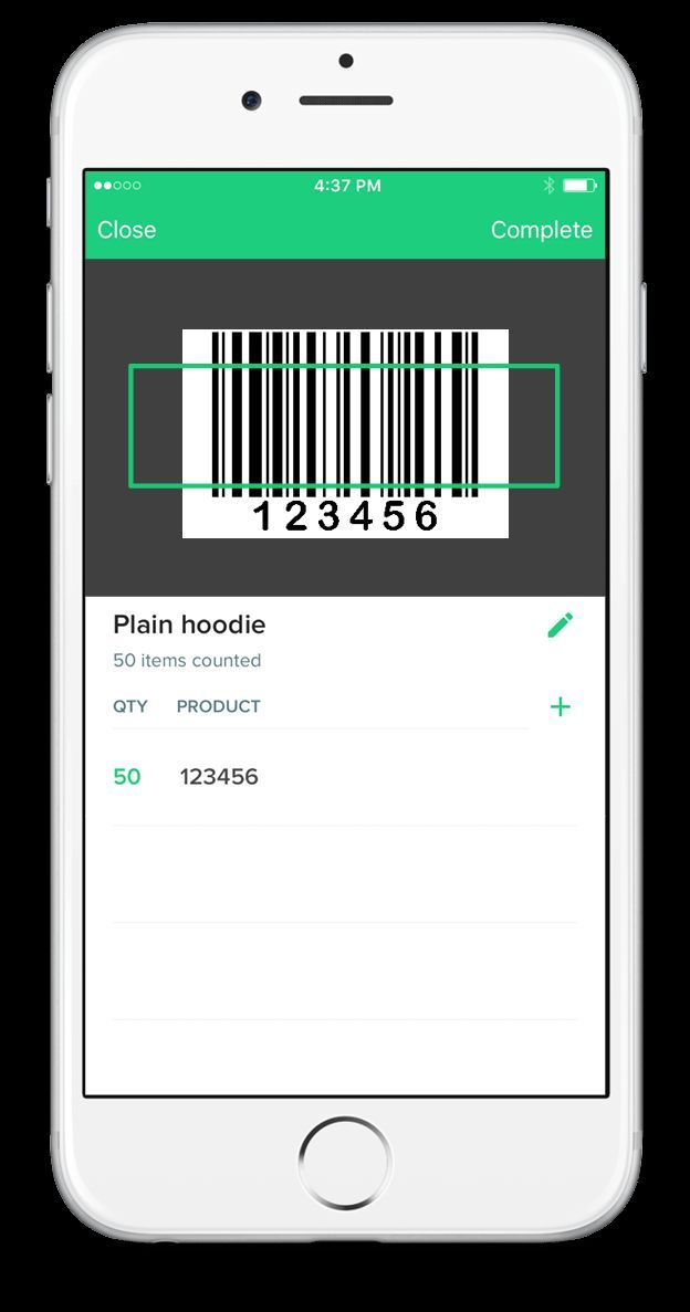 free barcode scanner app for inventory