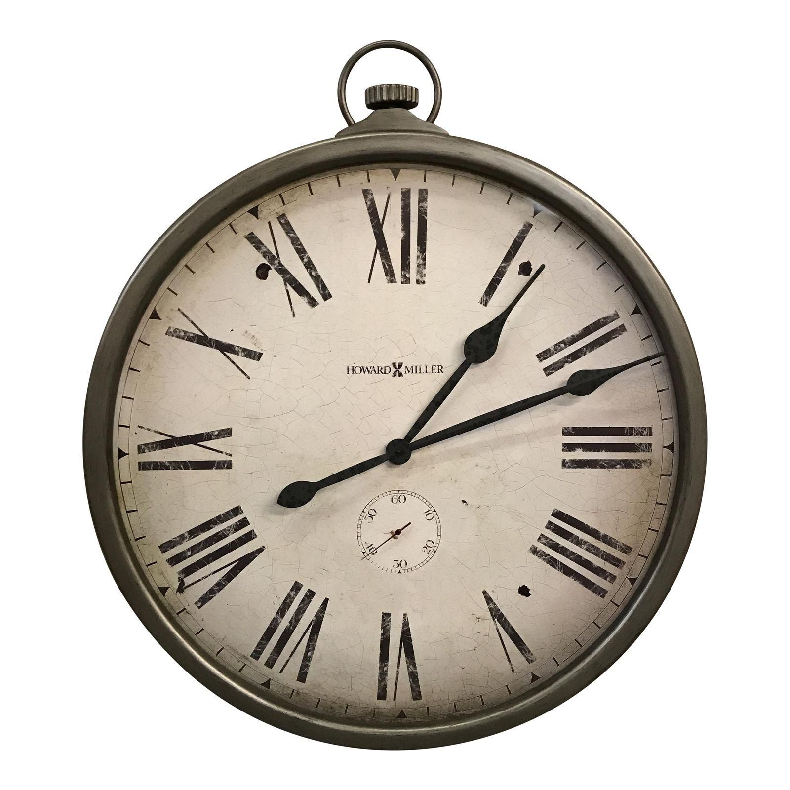 Howard miller pocket watch style wall clock howard miller howard miller pocket watch style wall clock amipublicfo Images