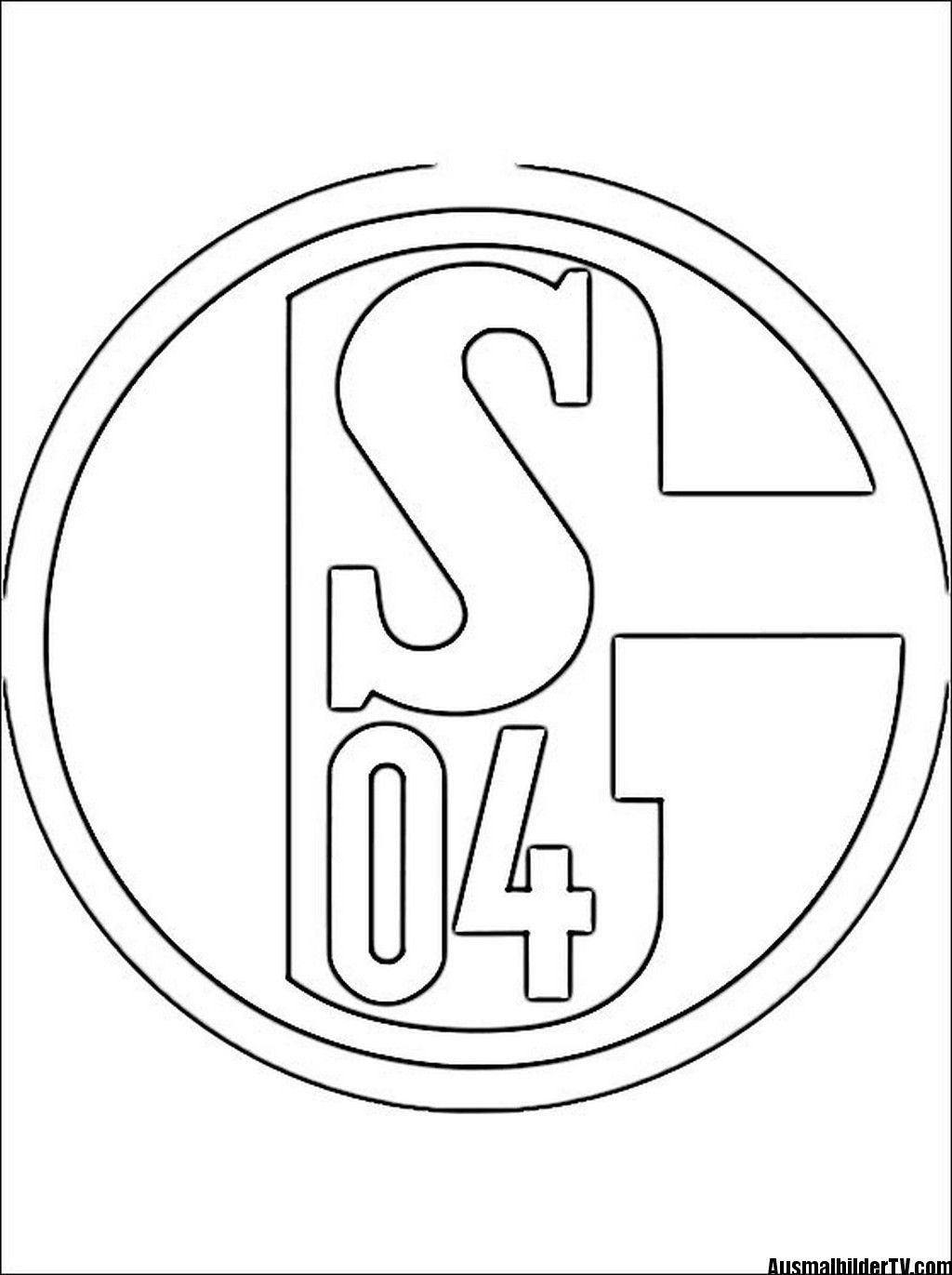 Fußball Ausmalbilder Zum Ausdrucken Schalke Ausmalbilder