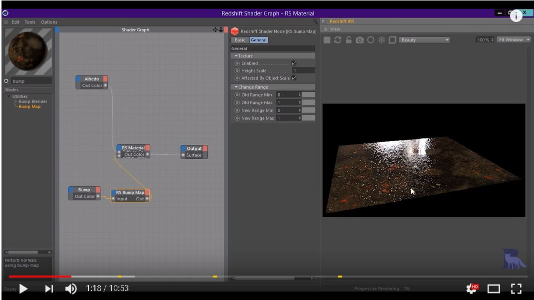 How to use texture maps [PBR] in Redshift [CINEMA 4D