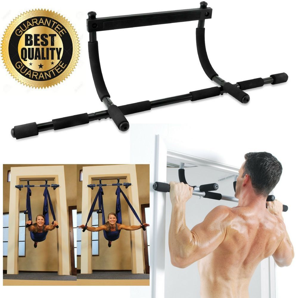 Relife Chin Up Bar Pull Up Bar Doorway Home Gym Exercise Strength Fitness