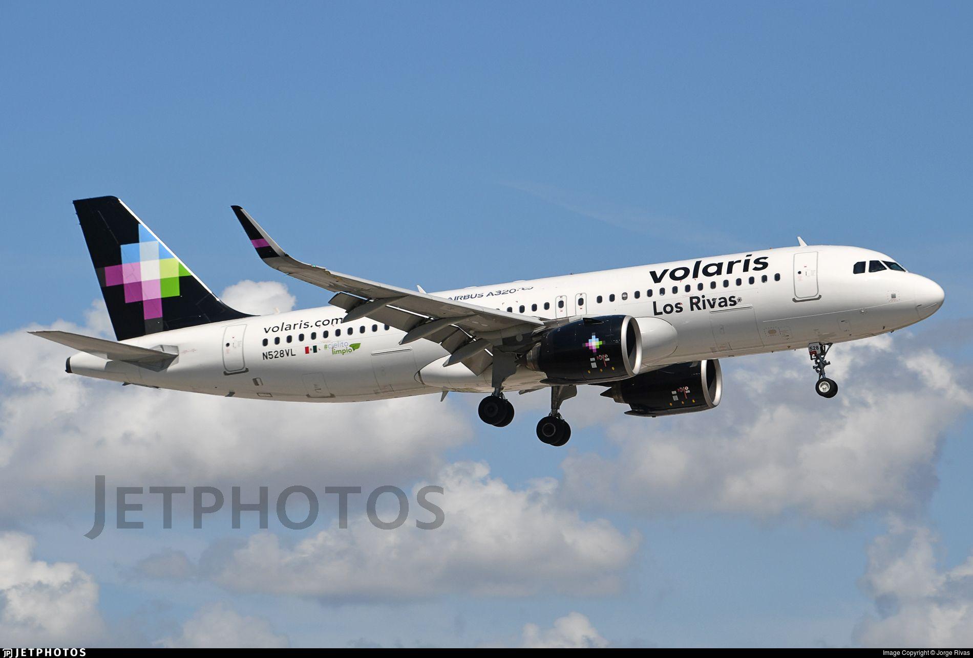 Airline Volaris Registration N528VL Aircraft Variant