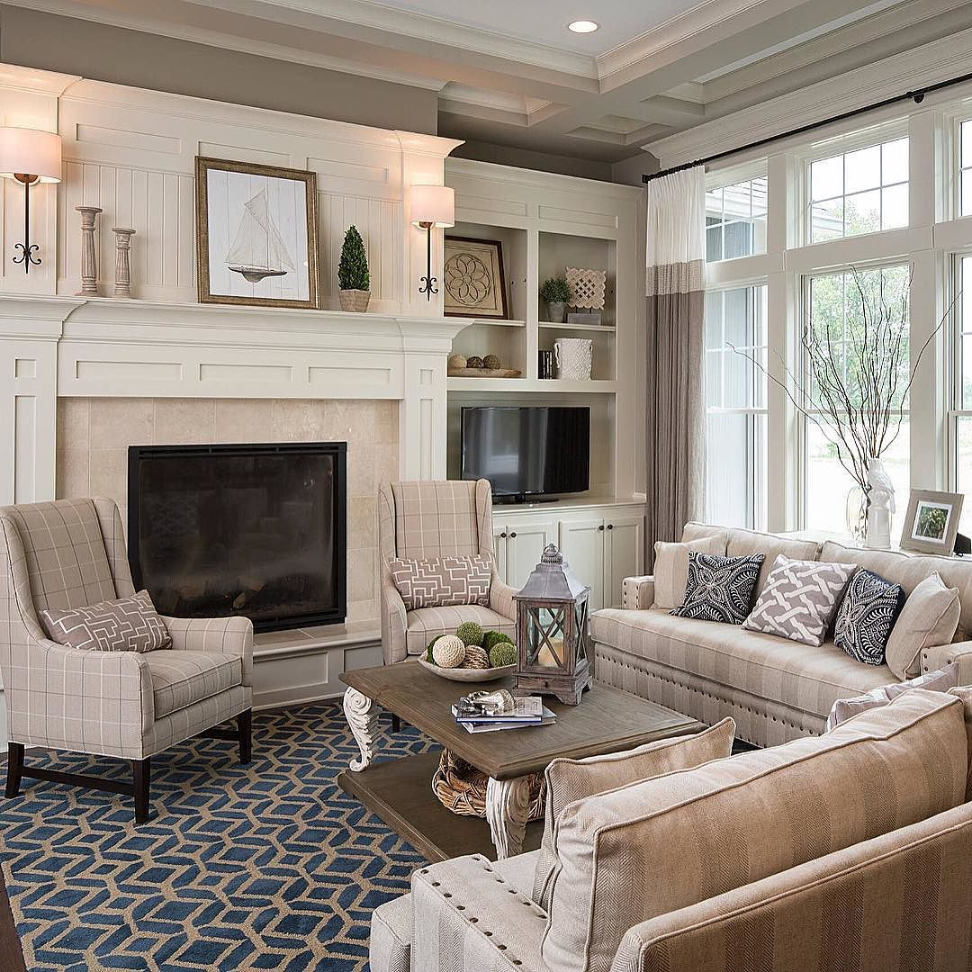 Traditional Living Room Furniture Ideas: So Cozy! Loving Every Little Detail! By The_real_houses_of