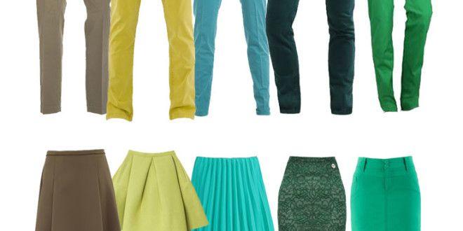 Come abbinare il colore verde   Passionando