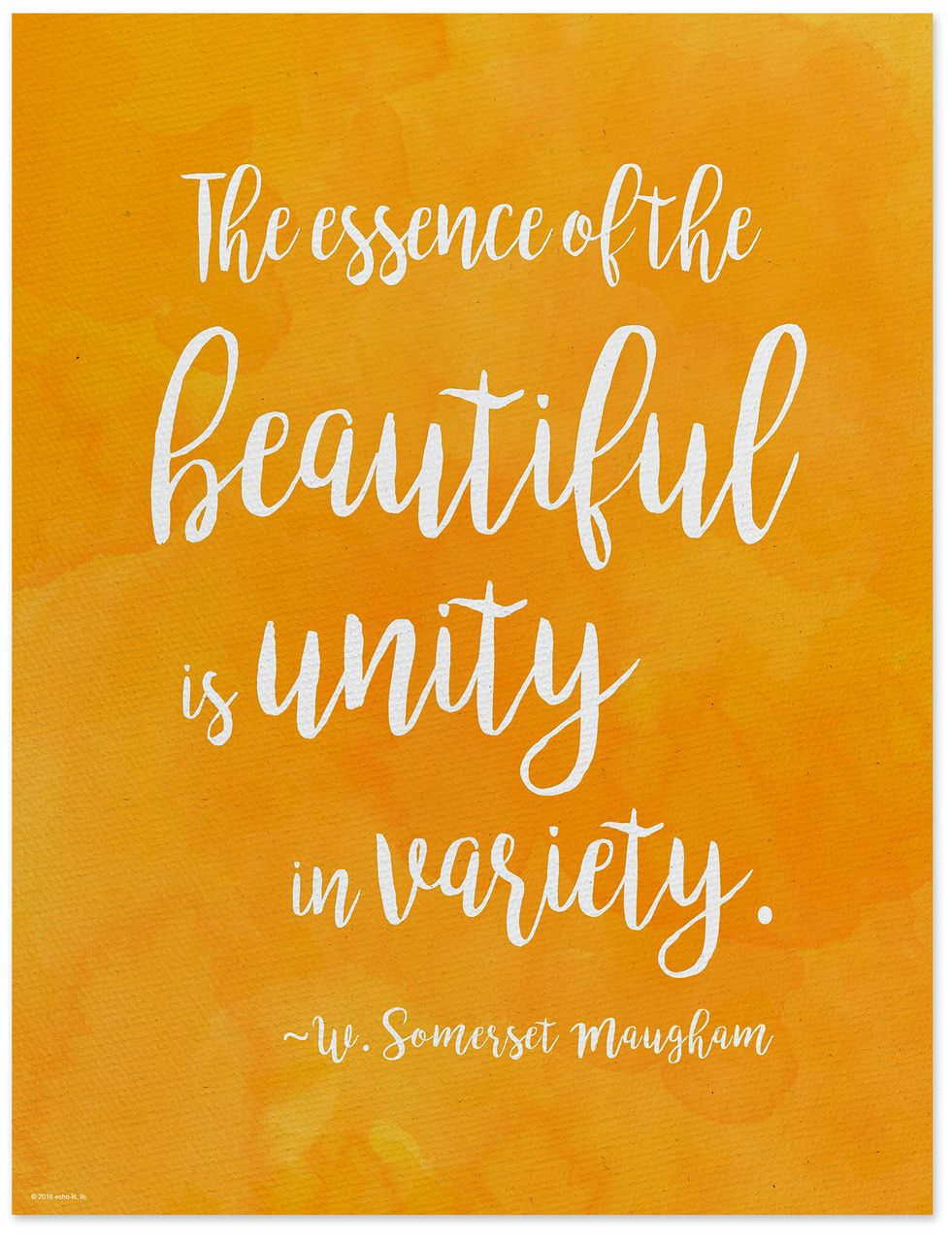Diversity Quotes Unity In Variety  Wsomerset Maugham Diversity Quote Posterfine .