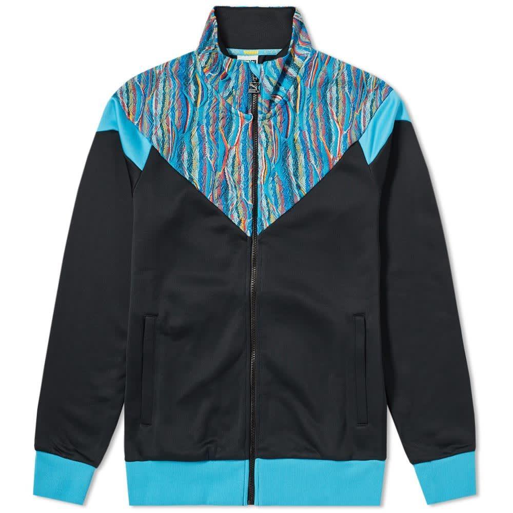 Puma Coogi Track Jacket In Black/blue