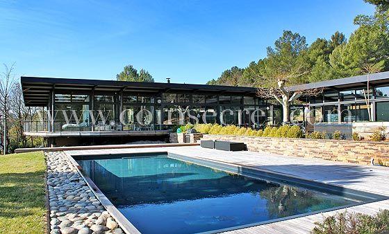 Location du0027une villa de vacances avec piscine près du0027Aix en Provence - location vacances provence avec piscine