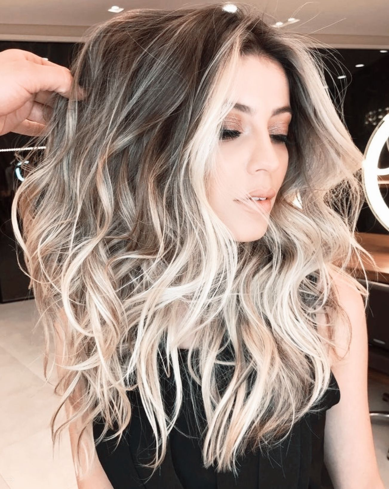 10 Marvelous Useful Tips Women Hairstyles Curly Long Bun Hairstyles How To Women Hairstyles 2018 Medium Boho Hair Balayage Hair Hair Styles Medium Hair Styles